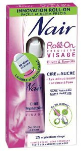 roll-on nair cire visage