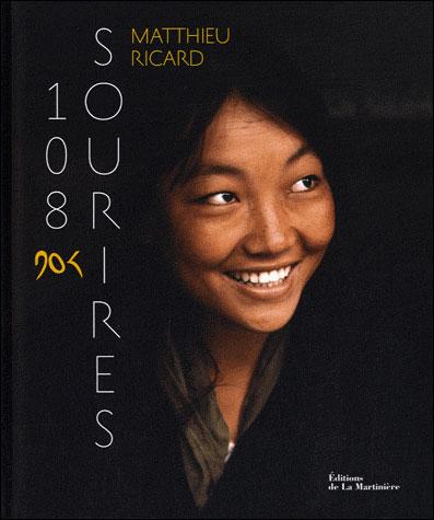 Couverture 108 sourires - Matthieu Ricard