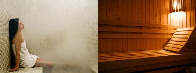 differences hammam et sauna