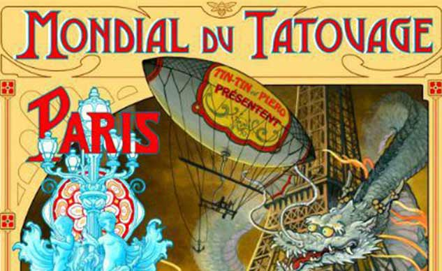 Salon mondial du tatouage mars 2013 paris 19 me - Bon salon de tatouage paris ...