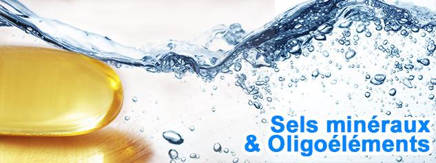 sels mineraux oligoelements