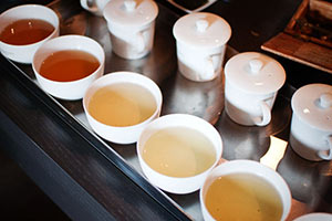 différents types de thés