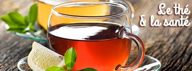 le thé bon pour la santé