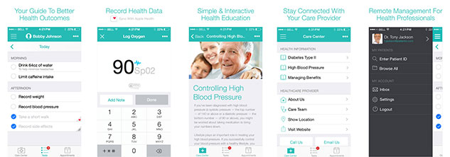 Application iphone Patient IO