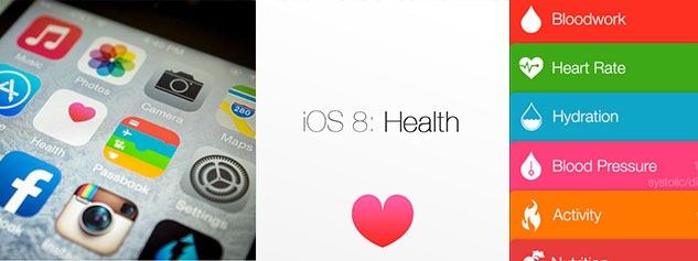 application widget health iphone ipad ios8