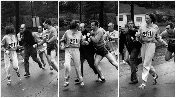 Katherine Switzer marathon Boston 1967