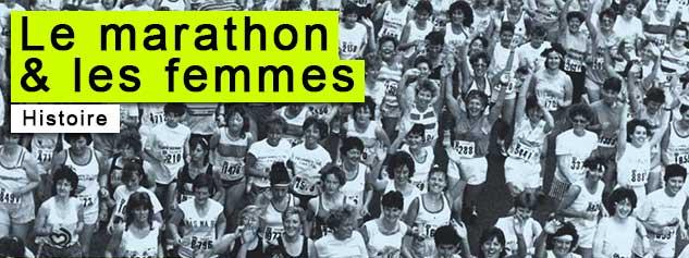 marathon sport femmes histoire