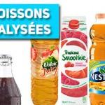 53 boissons sucrées analysées