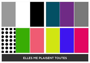 Fabletics choix couleurs