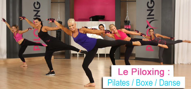 Piloxing danse pilates