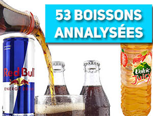 comparatif de 53 boissons sucr es test es cola jus de fruits. Black Bedroom Furniture Sets. Home Design Ideas
