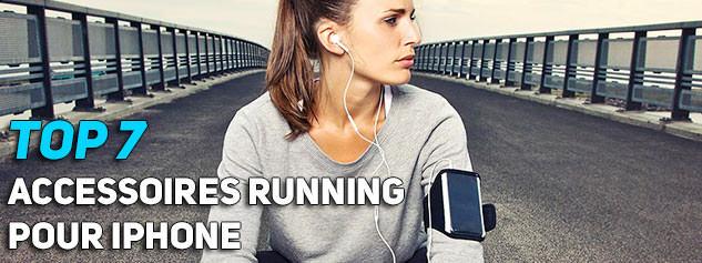 meilleurs accessoires running iphone