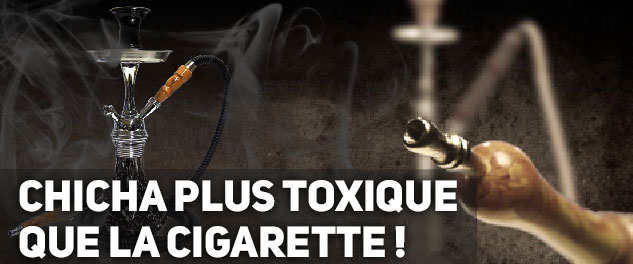 chicha-narguilé plus toxique que la cigarette